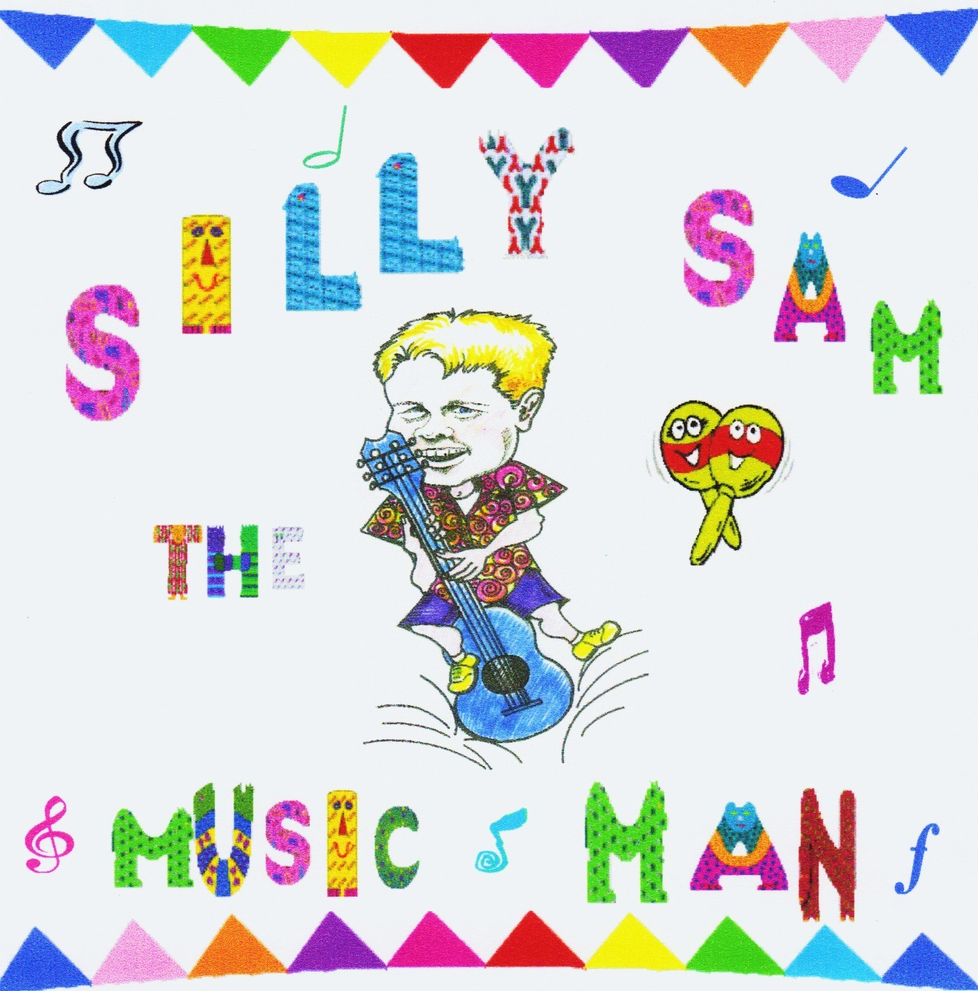 Silly Sam the Music Man CD and Cover Art